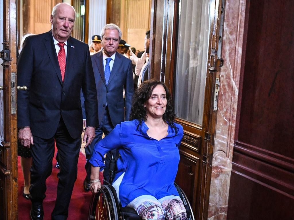 Gabriela Michetti is a disabled woman who suffered mansplaining and ableism regarding abortion