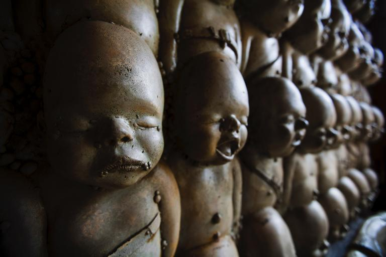 scary baby dolls