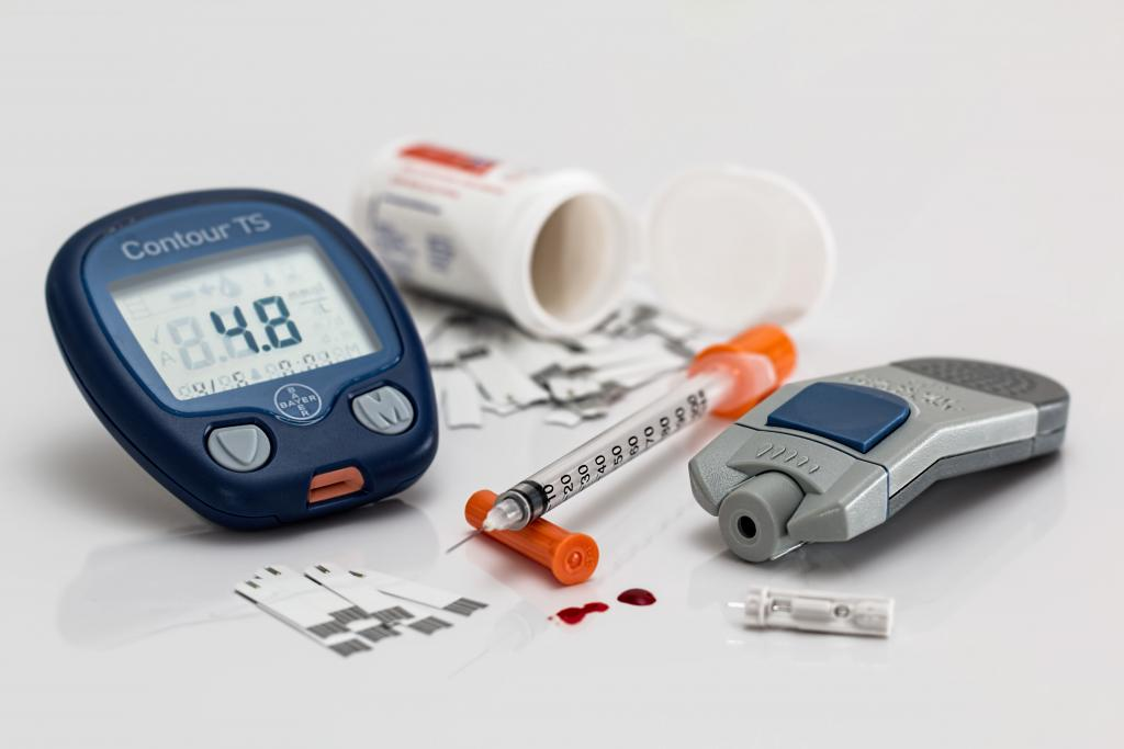 Diabetes and insulin material