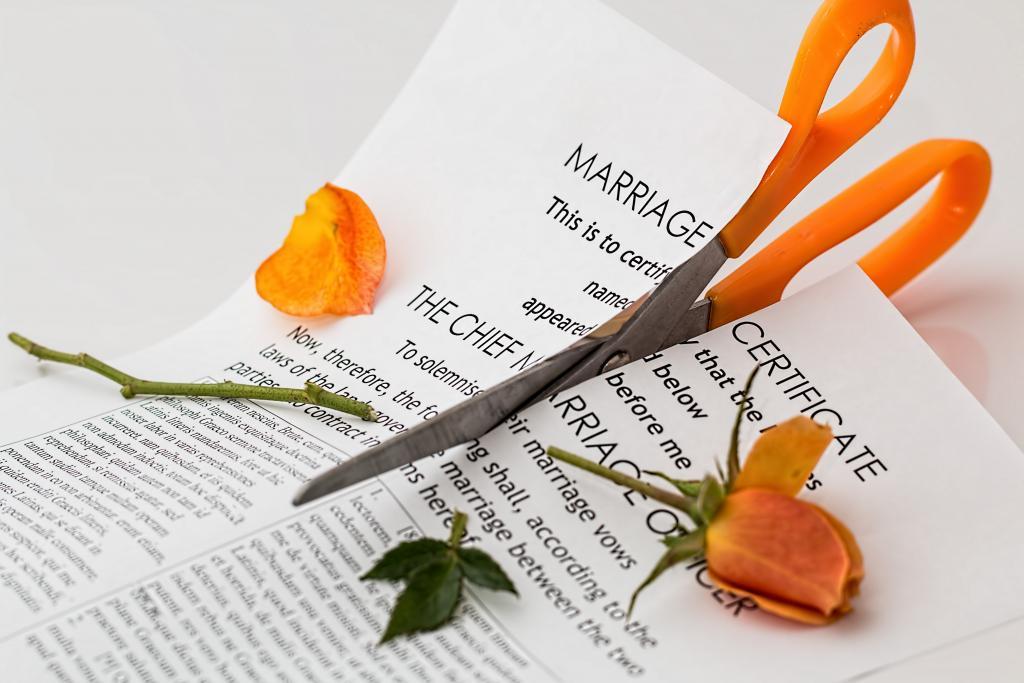 Divorce via Pixabay CC0