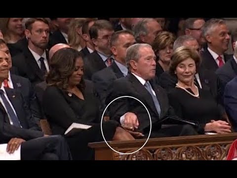 The George W Bush Michelle Obama Friendship Is A Ray Of