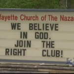 'The Right Club' and what offends God
