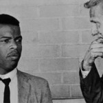 John Lewis (left) and Jim Zwerg in 1961 in Montgomery, Ala.