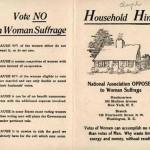 antisuffrage