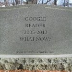 So, how are we going to replace Google Reader?