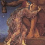 """The Worship of Mammon,"" by Evelyn De Morgan."