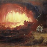 """The Destruction of Sodom and Gomorrah"" by John Martin (1852)"