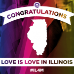 Marriage equality in Illinois, 15 … 16 … 17 …