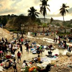 Haiti, one year after the earthquake. Photo by Mario Tama via Bag News Notes.