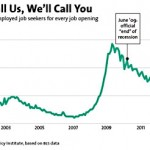 Time for the 'let the churches handle it' crowd to fish or get off the pot: 1.3 million unemployed lose their lifeline