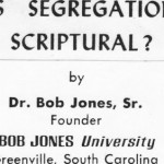 If Hobby Lobby wins its case for a religious exemption, could Bob Jones be headed back to the Supreme Court?