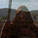 "Peter O'Toole as Obi Wan Yahwobi in the 1966 epic ""The Bible."""