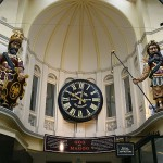 In the Royal Arcade in Melbourne, Gog and Magog are depicted as Celtic giants, because why not? (Creative Commons photo by John O'Neill.)