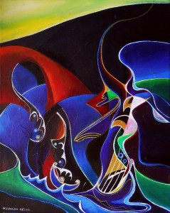 """Sirens Scylla and Charybdis,"" by Wolfgang Schweizer."