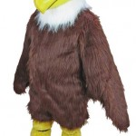 This is not actually Eastern's Eagle mascot costume, but it's close enough to get the general idea.