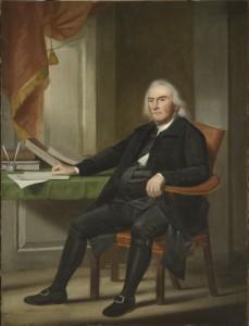 Portrait of Abraham Davenport by Ralph Earl, 1788.