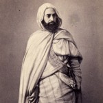 Abd el-Kader, photographed in Damascus, 1860.
