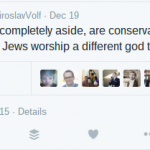 Do white evangelicals and Jews 'worship the same God'?