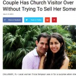 'Christians have permission to laugh' means 'Christians NEED permission to laugh'