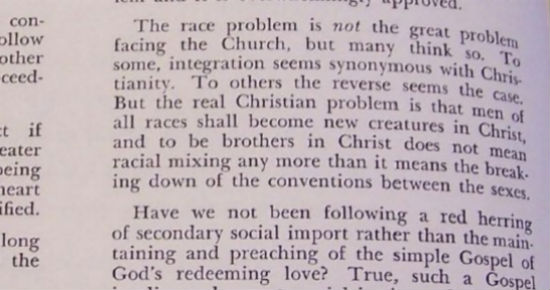 "Another example of Bell's ""moderate"" views, from the Southern Presbyterian Journal. (click pic for link to source)"