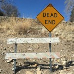 The clarity of a dead end