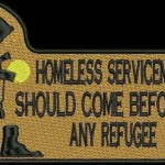 Still This: Please don't suddenly pretend you care about homeless veterans for just as long as it allows you to oppose helping refugees, because that's hurting both veterans and refugees and it's making you miserable