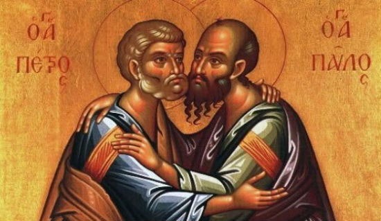 Saints Peter and Paul.