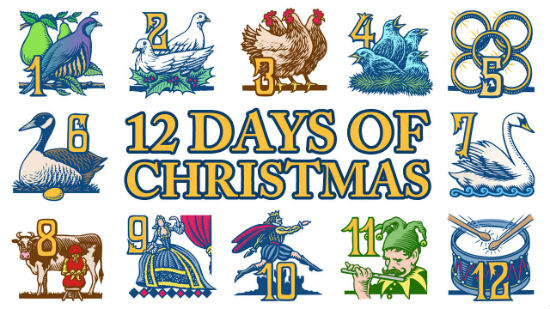 the true secret hidden religious meaning of the 12 days of christmas fred clark - When Do The 12 Days Of Christmas Start