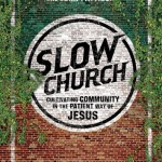 Slow Church Book Cover!