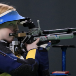 American Shooter Wins First Gold