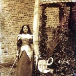 St Therese dressed as Joan of Arc