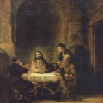 Supper at Emmaus by Rembrandt