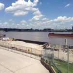 The Mississippi at St Louis