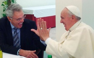Pope Francis in fellowship with Evangelical Pastor James Robinson
