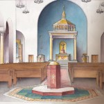 Interior Proposed New Our Lady Rosary Church Greenville, SC - rendering by Matthew Alderman