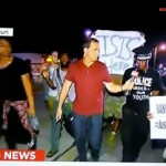 ISIS banner appears in Ferguson MO