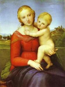The Cowper Madonna by Raphael