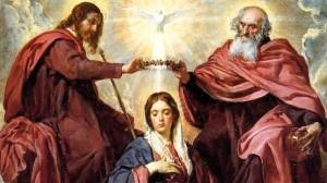 Coronation of Mary by Velasquez