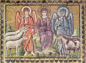 The Parable of the Good Shepherd Separating the Sheep from the Goats