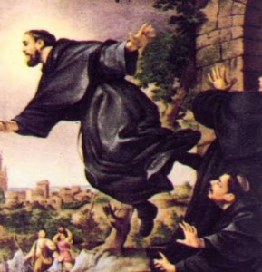 St Joseph of Cupertino - Patron Saint of Pilots and Aviators