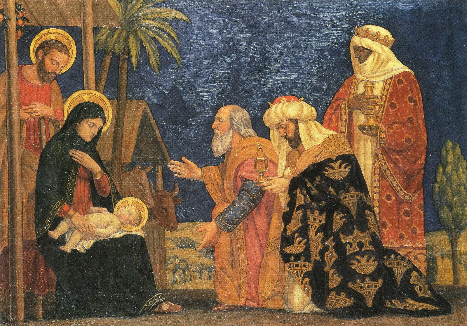 The Annunciation and the Adoration of the Magi