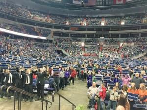 The Verizon Center Youth Mass Before This Year's MFL