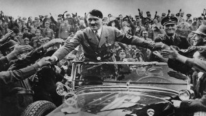crowds hitler