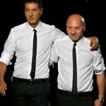 Stephano Gabbana and Domenico Dolce