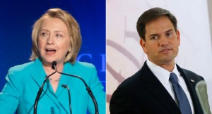 hillary and marco