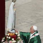 Pope Francis Consecrates the World to OL Fatima, October 13, 2013