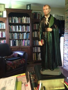 New statue of St Edmund Campion