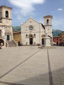 Norcia Town Square