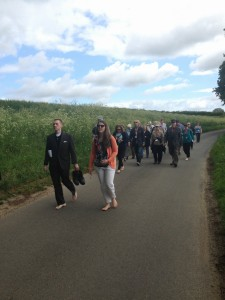 Walking Barefoot in Walsingham