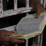 bible in jail